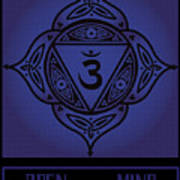 Celtic Tribal Third Eye Chakra Poster