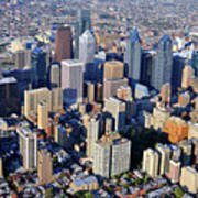 Center City Philadelphia Large Format Poster