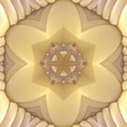 Center Star-flower Poster