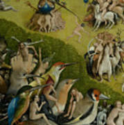 garden of earthly delights poster. Central Panel From The Garden Of Earthly Delights Poster