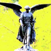 Central Park Bathesda Fountain 3b Detail Poster