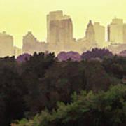 Central Park Skyline Poster