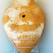 Ceramic Pot From Olympia. Poster