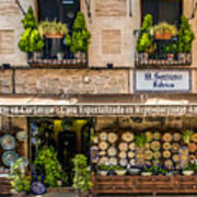 Ceramic Shop - Toledo Spain Poster