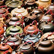 Ceramic Teapots Poster