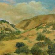 Cerillos Hills New Mexico Poster