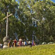 Cerro De La Cruz - Antigua Guatemala Hdr Iv Poster