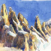 Cerro Torre, Patagonia Poster