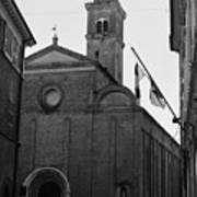 Cesena - Italy - The Cathedral 3 Poster
