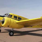 Cessna T-50 Bobcat N59188 Casa Grande Airport Arizona March 5 2011 Poster