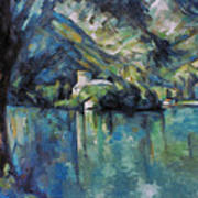 Cezanne: Annecy Lake, 1896 Poster