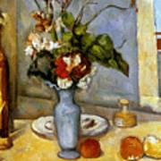 Cezanne: Blue Vase, 1885-87 Poster