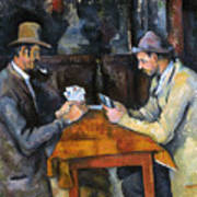 Cezanne: Card Player, C1892 Poster