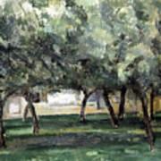 Cezanne: Le Clos Normand Poster