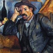 Cezanne: Pipe Smoker, 1900 Poster