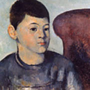 Cezanne: Portrait Of Son Poster