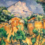 Cezanne: Sainte-victoire Poster