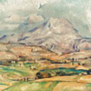 Cezanne: St. Victoire, 1897 Poster
