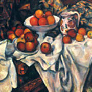 Cezanne: Still Life, C1899 Poster