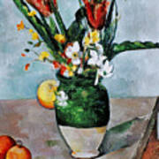 Cezanne: Tulips, 1890-92 Poster