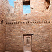 Chaco Canyon Doorways 4 Poster