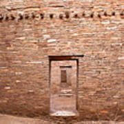 Chaco Canyon Doorways 5 Poster