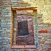 Chaco Canyon Windows Poster