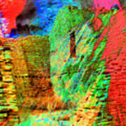 Chaco Culture Abstract Poster