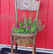Chair Planter Poster