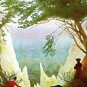 Chalk Cliffs On Rugen Poster
