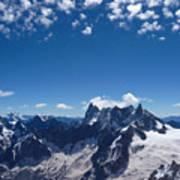 Chamonix Alpine View Poster
