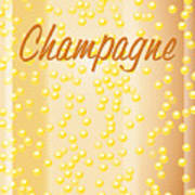 Champagne Poster