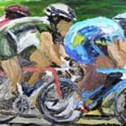 Champions Peddling To Victory Poster