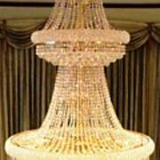 Chandelier Hanging Tall Poster