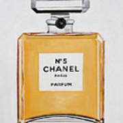 Chanel Me Poster by Denise H Cooperman