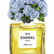 Chanel N.5 Yellow Bottle Poster