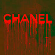 Chanel Plakative Fashion - Neon Weave Poster