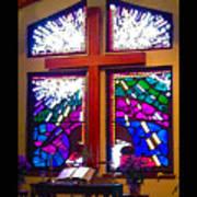 Chapel At The Wesleyan At Scenic Poster
