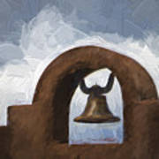 Chapel Bell Chimayo Painterly Effect Poster