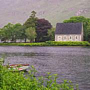 Chapel In The Mist - Gougane Barra - County Cork - Ireland Poster