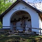 Chapel Of Rietz Calvary Tyrol Austria Poster