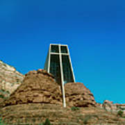 Chapel Of The Holy Cross Sedona Arizona Poster