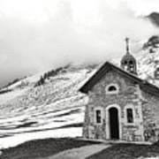 Chapelle Des Aravis Poster