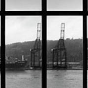 Charging Dock Of Barcelona Poster