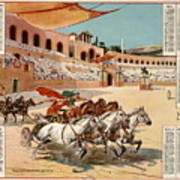 Chariot Races To Byzantium Poster