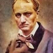 Charles Pierre Baudelaire, Literary Legend Poster