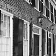 Charleston Brick Homes Poster