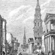 Charleston: Church, 1861 Poster