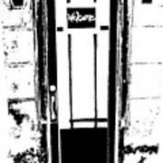 Charleston Door Poster