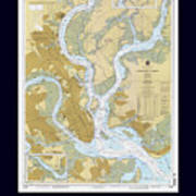 Charleston Harbor Poster